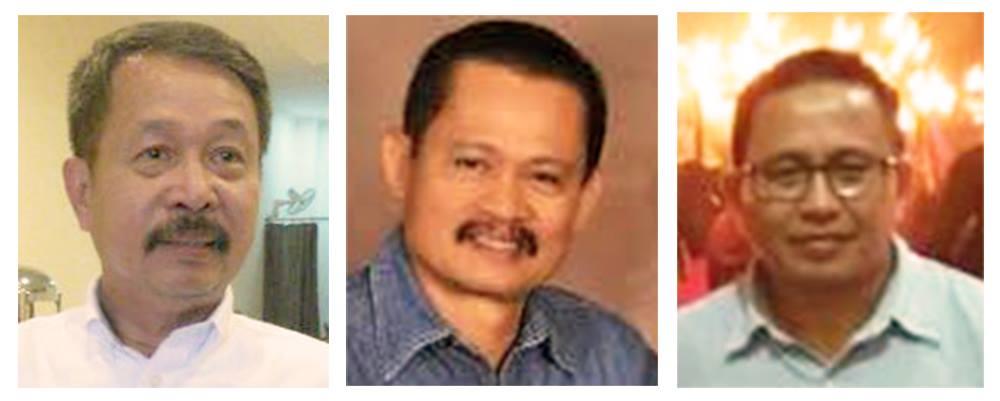 Lutfi Andi Mutty, Arifin Junaidi dan Muhammad Fauzi