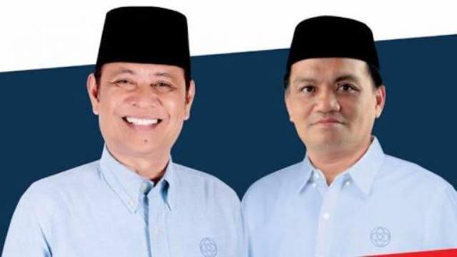 Pasangan Basmin-Syukur memperoleh suara sebanyak 117.230 suara