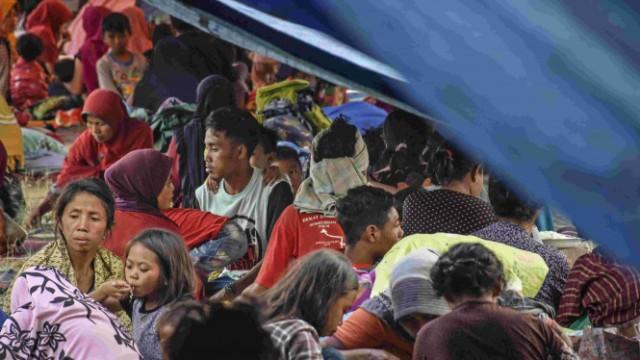 Pengungsi korban gempa Lombok butuh bantuan sembako dan obat-obatan