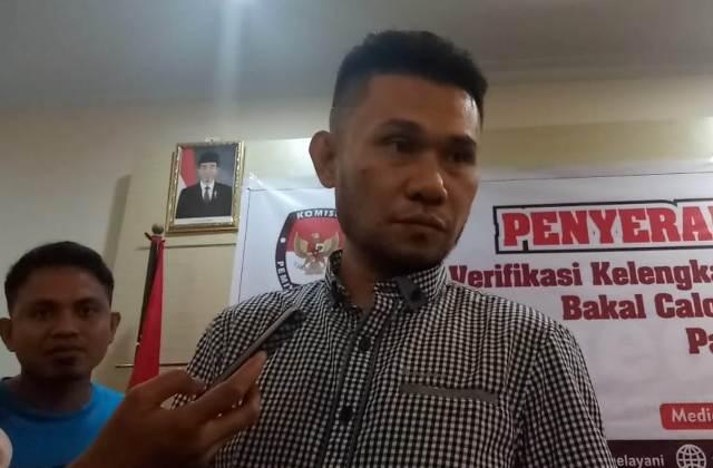Anggota KPU Sulsel, M Asram Jaya