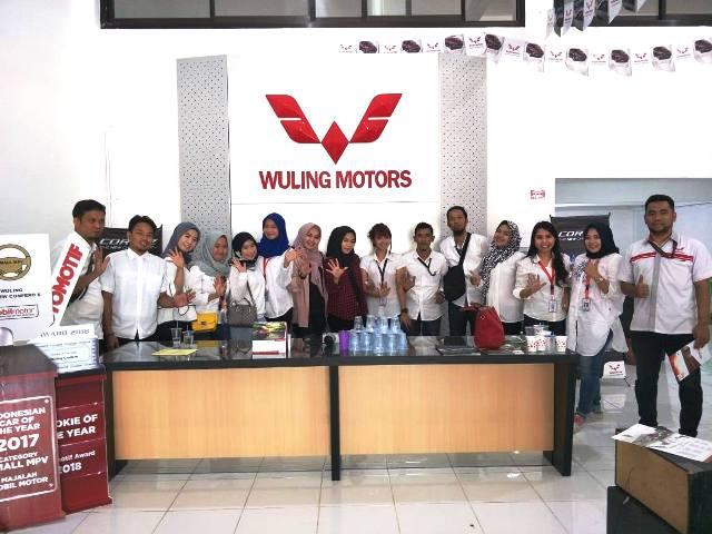 PT Kumala Cemerlang Abadi Cabang Palopo sebagai dealer resmi mobil merk Wuling Motors, terus memanjakan konsumennya. Salah satunya dengan menghadirkan berbagai program. Diantaranya, DP (Down Payment) atau uang muka dimulai dari Rp 16 juta, menggelar undian Buy Wuling Get Wuling dan lainnya.