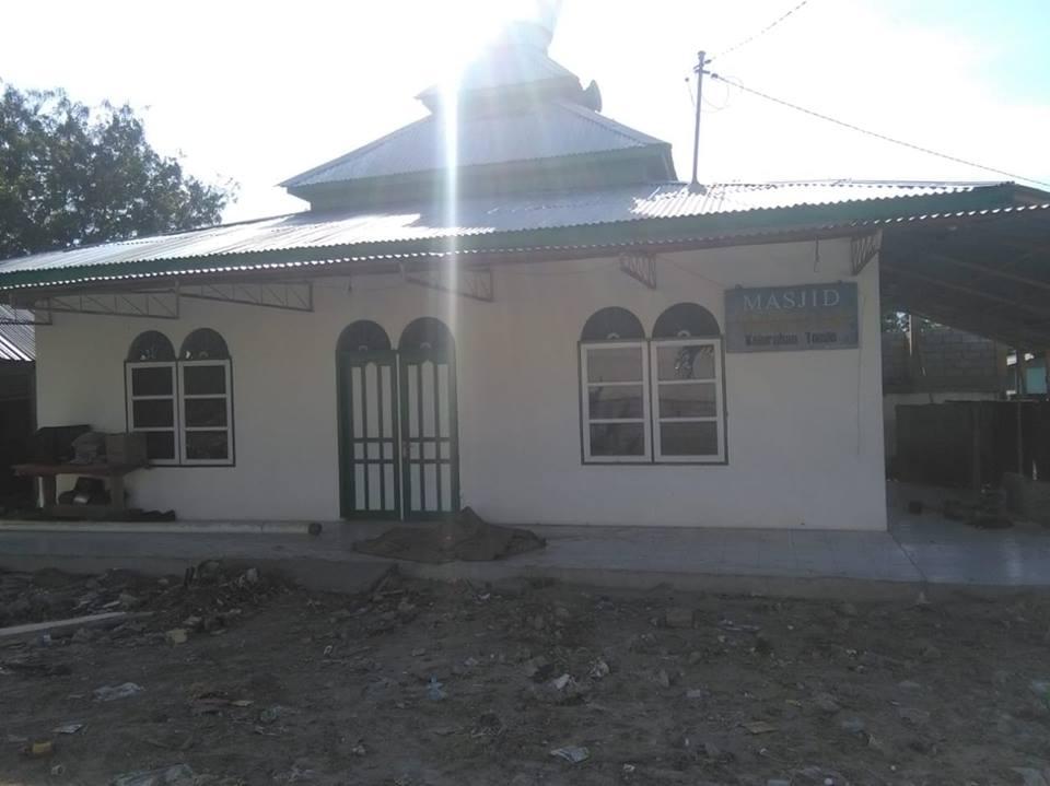 Masjid di kawasan eks lokalisasi Tondo Kiri