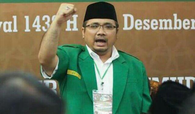Ketua GP Ansor Yaqut Cholil Qoumas