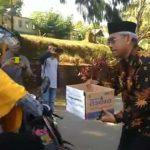 Bupati Luwu Timur, HM Thoriq Husler ikut aksi peduli korban gempa di Palu dan Donggala, Provinsi Sulawesi Selatan. Husler bersama berbagai elemen masyarakat turun ke jalan menggalang dana bantuan bagi korban bencana alam yang sudah menewaskan tidak kurang dari 1.000 orang itu.