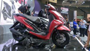 Yamaha meluncurkan motor matik terbaru, namanya adalah Yamaha FreeGo