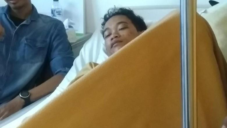 Polisi belum meringkus pelaku begal sadis yang menetebas tangan mahasiswa di Makassar, Imran. Hingga saat ini, Rabu (28/11/2018), polisi masih memburu pelakunya.