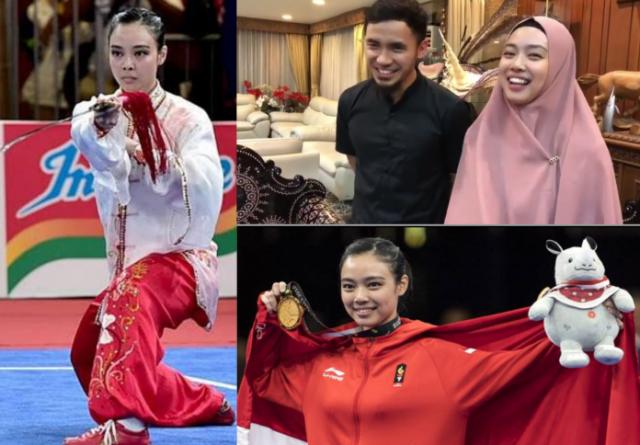 Atlet wushu putri Indonesia, Lindswell Kwok muncul di hadapan publik dengan tampilan yang cukup mengejutkan. Dalam unggahan video Instagram Menteri Pemuda dan Olahraga (Menpora) Imam Nahrawi, peraih medali emas Asian Games 2018 itu mengenakan hijab.