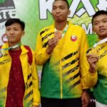 Karateka Lutim Persembahkan Emas di Kejuaraan Karate Internasional Open Walikota Surabaya Cup 2019