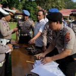 Izin kadaluarsa, 21 Pucuk Senjata Api Milik Anggota Polres Luwu Ditarik