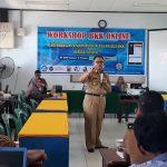 Gelar Workshop BKK, Kepsek SMKN 2 Palopo : Persiapkan Siswa Masuki Dunia Kerja