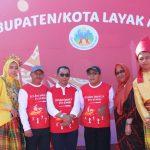 Sekda Luwu Timur Hadiri Peringatan Hari Anak Nasional di Makassar