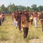 Wakili Sekolah, 31 SiswaSMPN 14 Palopo Rutin Latihan Gerak Jalan