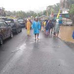 Banjir Kembali Landa Larompong, Kendaraan Tertahan