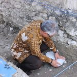 Husler Letakkan Batu Pertama Renovasi Gereja GKST Setia Bakti
