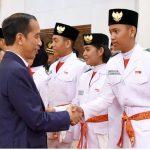 Hebat, Siswa SMA 3 Luwu Dikukuhkan Jadi Anggota Paskibraka Oleh Presiden RI