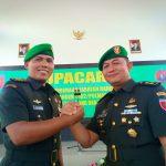 Serah Terima Jabatan, Letkol M Imasfy Pindah Tugas ke Mabes TNI AD