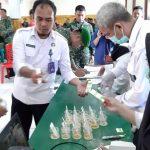 120 Personil Kodim 1403 Sawerigading Jalani Tes Urine