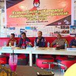 Evaluasi Fasilitasi Kampanye, KPU Palopo Terima Sejumlah Masukan