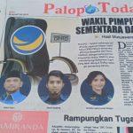 Nasdem Tunjuk Abdul Salam Wakil Ketua I DPRD Palopo, Efendi Sarapang Sementara