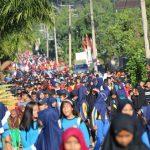 Peringati HKN ke-72, Ratusan Warga Malili Ramaikan Jalan Sehat