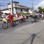 SMPN 8 Palopo Raih Juara di Lomba Sepeda Hias
