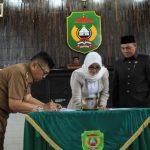 Walikota-DPRD Tandatangani Nota Kesepakatan KUA-PPAS