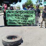 Gelar Aksi Damai, Mahasiswa Palopo Minta Polisi Tangkap Pelaku Pembakaran Bendera HMI di Makassar