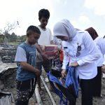 Tiga Rumah Dilalap Api di Baebunta, IDP Serahkan Bantuan