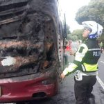 Bus Putra Jaya dari Masamba ke Makassar Terbakar di Belopa, Begini Kondisinya...