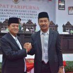 Ketua DPRD Luwu Utara Resmi Ditetapkan, Dari Mahfud Yunus ke Basir