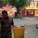 Pemadam Kebakaran Luwu Utara Telat Tiba, 8 Rumah Warga di Beringin Jaya Ludes Dilalap Api