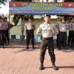 Amankan Pilkades Serentak, Polres Luwu Terjunkan 255 Personil