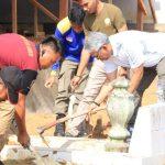 Jelang Ramah Tamah FKN, Baruga Macoa Bawalipu Dibersihkan