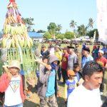 Rayakan Hari Jadi, Desa Mulyasari Lutim Gelar Pawai Budaya