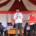 Pimpin Upacara Hari PMI ke-74, Husler : Semangat Jalankan Tugas Kemanusiaan