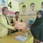 Pastikan Maju di Pilkada, Kadis PU Luwu Utara Ambil Formulir di Partai Golkar