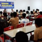 Polsek Bua Sosialiasi Tertib Berlalulintas ke Karyawan PT. Niaga Intimulia