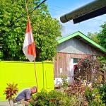 BJ Habibie Wafat, Warga Palopo Kibarkan Bendera Setengah Tiang