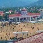 VIDEO : Demo Tolak RUU KPK di Palopo Ricuh, Mahasiswa Bentrok dengan Aparat