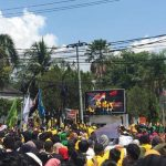 Tak Terbendung, Ribuan Mahasiswa di Palopo Bersatu Tolak RUU KPK