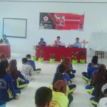 Kadisbudpar Buka Diklatsar PMR di SMK 2 Luwu Utara