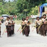 Meriahkan HUT ke-58, Kwarcab Pramuka Luwu Utara Gelar Gerak Jalan Indah