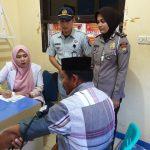 Sambut HUT Polantas, Polres Luwu Buka Pos Pemeriksaan Kesehatan Gratis