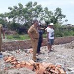 Sekda Tinjau Pembangunan RTH Eks Pasar Bonebone