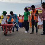 Bersih-bersih Sambut Tim Penilai kota Sehat di Palopo
