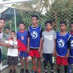 Motivasi Siswa, Pemuda Desa Raja Gelar Turnamen Futsal