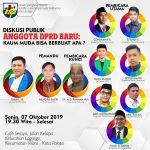 Dorong Kemajuan Palopo, 7 Wakil Rakyat Millenial Bicara Pembangunan di Diskusi KNPI