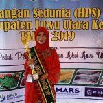Gadis Cantik Ini Terpilih Jadi Duta Pangan Lutra 2019, Naik Motor Pakai Baju Adat ke Lokasi Pemilihan