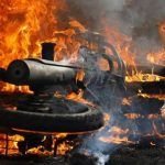 Diduga Utang Piutang, Motor Warga Palopo Dibakar OTK
