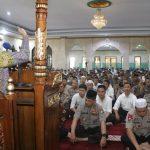 Imam Besar Masjid New York Asal Kajang Berceramah di Mapolda Sulsel
